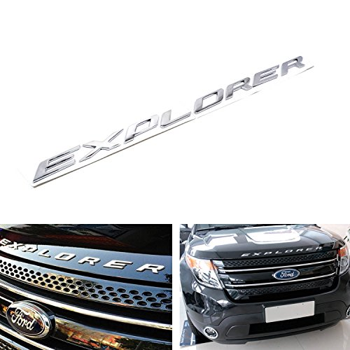8-letter-set-silver-chrome-finish-front-hood-3d-letters-stickers-fit-for-2011-up-ford-explorer