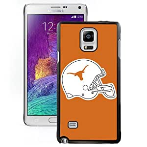 Hot Sale Samsung Galaxy Note 4 Cover Case Big 12 Conference Big12 Football Texas Longhorns 10 Protective Cell Phone Hardshell Cover Case For Samsung Galaxy Note 4 N910A N910T N910P N910V N910R4 Black Unique And Durable Designed Phone Case