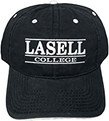 NEW! Lasell College Lasers Adjustable Buckle Back Hat 3D Embroidered Cap -  Blue ef0e9de421a