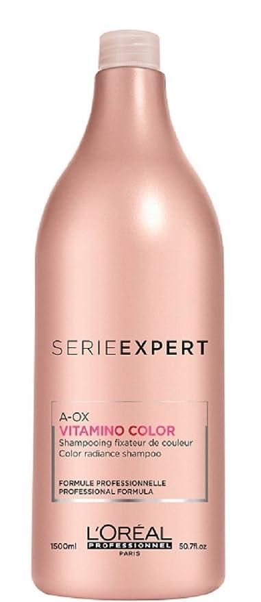LOreal Vitamino Color - Champú Capilar - 1500 ml