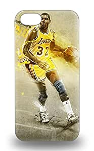 Cute Appearance Cover Tpu NBA Los Angeles Lakers Earvin Johnson #32 3D PC Soft Case For Iphone 5/5s ( Custom Picture iPhone 6, iPhone 6 PLUS, iPhone 5, iPhone 5S, iPhone 5C, iPhone 4, iPhone 4S,Galaxy S6,Galaxy S5,Galaxy S4,Galaxy S3,Note 3,iPad Mini-Mini 2,iPad Air )