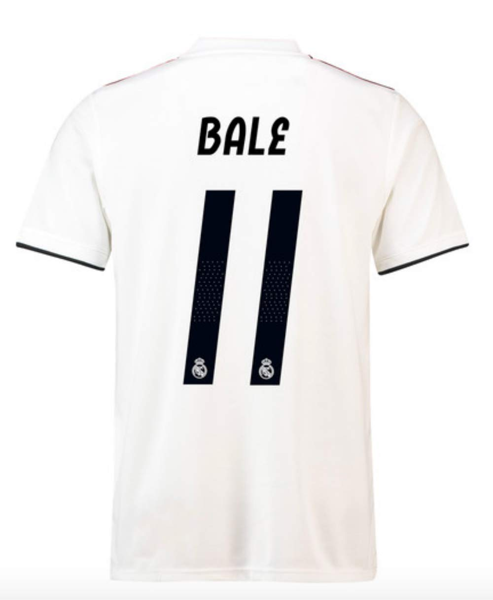 online store 9e7d0 e799e Amazon.com : ProApparels Bale Youth Jersey Real Madrid 2018 ...