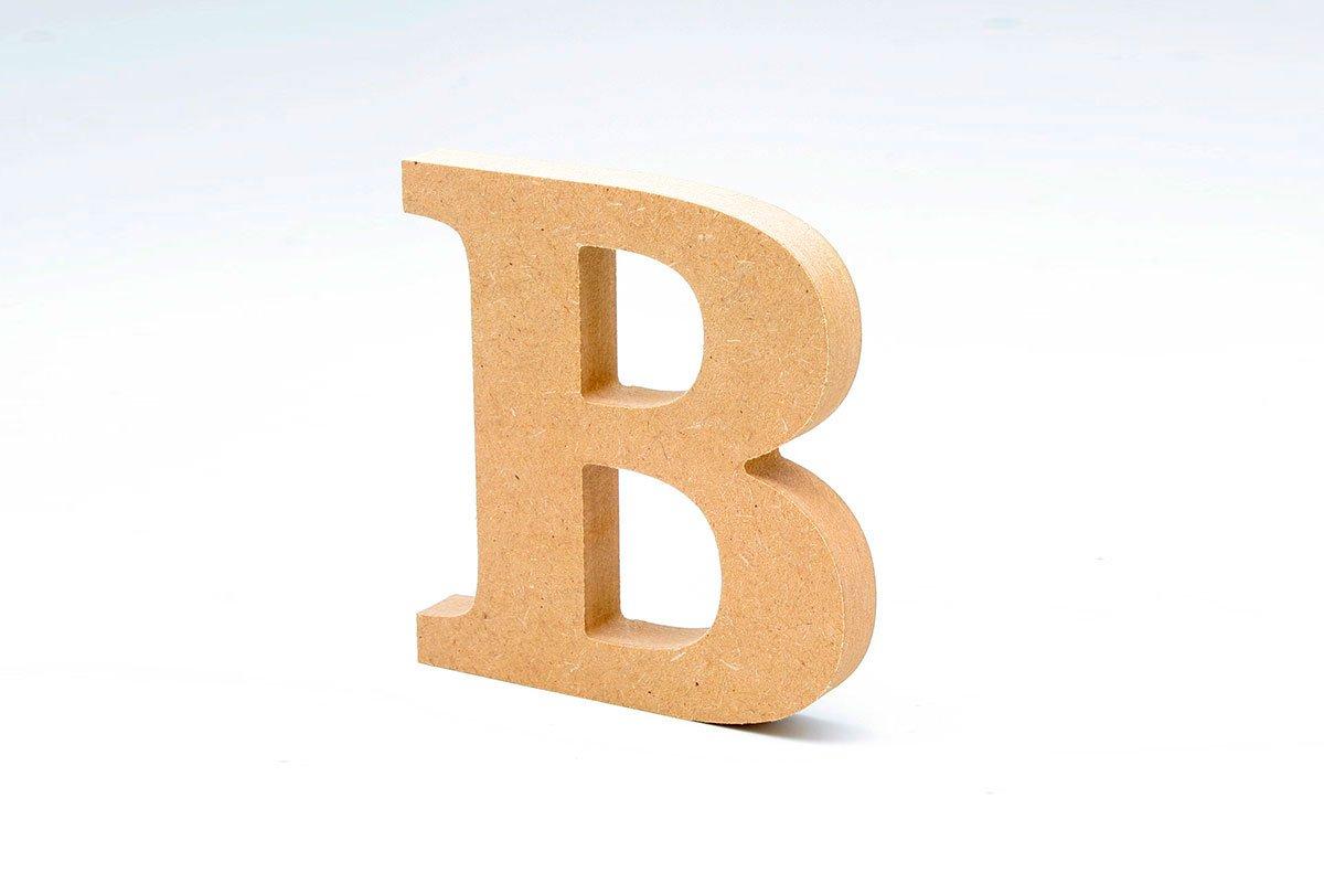 lettres grands en bois DM de 12/cm de Haut pour d/écoration et travaux manuels Alphabet complet /& lettres de bois