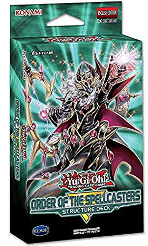 Yu-Gi-Oh! Cards Order of The Spellcasters Structure Deck | 3 Super Rares | 2 Ultra Rares (Yugioh Blue Eyes White Dragon Deck Build)