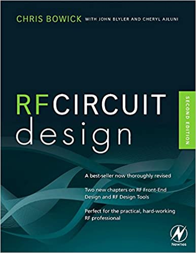 RF Circuit Design, Second Edition: Christopher Bowick: 8601419413652 ...