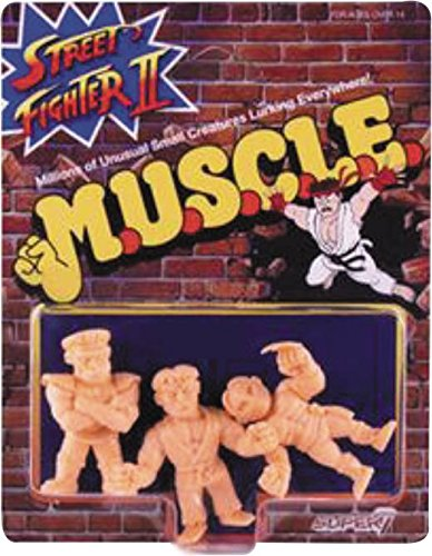 Street Fighter II Ryu, M. Bison and Vega M.U.S.C.L.E. Figure Pack