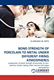 BOND STRENGTH OF PORCELAIN TO METAL UNDER DIFFERENT