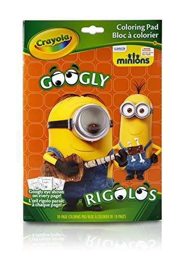Crayola Googly Minions Coloring Book product image