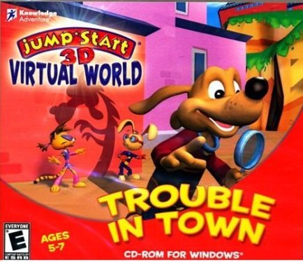 c36462631acc Amazon.com  JUMPSTART 3D VIRTUAL WORLD TROUBLE IN TOWN  Software