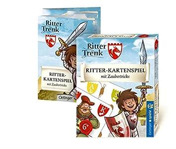 Lernspielzeug Ritter Trenk Kartenspiel mit Zaubertricks
