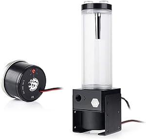 Bitspower D5 Pump and 150mm Reservoir Combo, RGB 12V, Black/POM