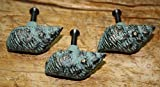 6 Cast Iron NAUTICAL Sea Shell Style Drawer Pull Barn Handle Door Handles Beach by OutletBestSelling