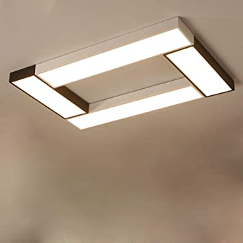 LLZXDD Plafón Lámpara De Techo Led Lámpara De Panel Moderna ...