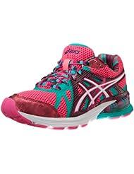 ASICS 亚瑟士 Gel-Preleus Running Shoe女款透气减震跑步鞋 $34.11 白绿蓝