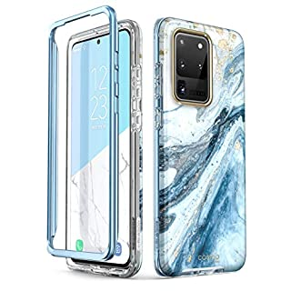 i-Blason Cosmo Series Case for Samsung Galaxy S20 Ultra 5G (2020 Release), Slim Stylish Protective Case Without Built-in Screen Protector (Blue)
