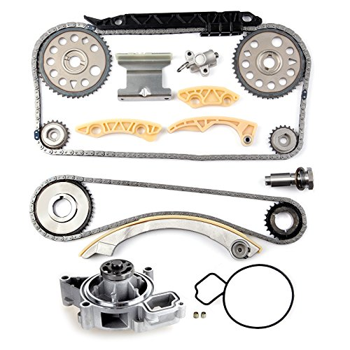 CCIYU Timing Chain Balance Shaft Kit AW5092 Water Pump fits for 2002 2003 2004 2005 Chevrolet Cavalier Replacement Timing Chain Kit for 2005 2006 2007 2008 Chevrolet Malibu