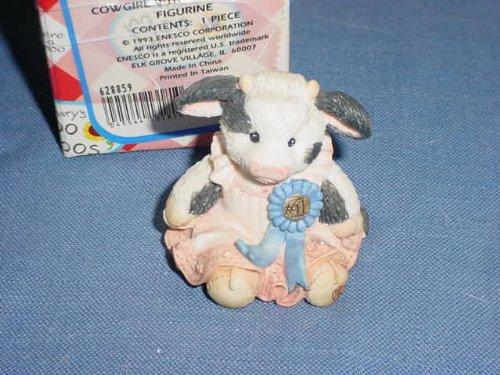 Enesco Marys Moo Moos Cream Of The Crop Figurine