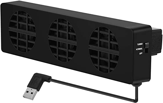 Tangxi Ventilador de refrigeración Externo para Switch, USB 5V ...
