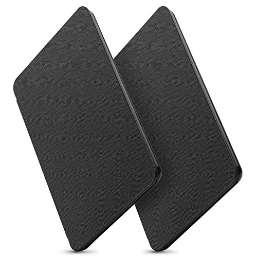 OMOTON All-new Kindle 2019 Case Cover (2 Pack), The Thinnest Lightest PU Leather Smart Shell Cover with Auto Sleep Wake Feature for All New Kindle 10th generation 2019 Released, Black+Black