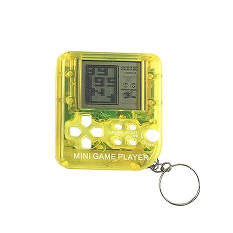 AOLVO Mini Tetris Máquina de Juegos de Mano con Llavero ...