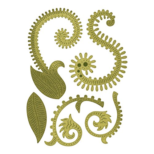 Bohemian Stem - Cheery Lynn Designs Bohemian Collection Mehndi Botanical Stem - 5 Die Set
