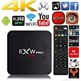 Amlogic EXW 905X PRO Quad Core Smart TV Box With Xbmc Pre-installed Android 6.0 Lollipop OS TV Box Quad Core 1G/8G 4K Google Players with WiFi HDMI DLNA.