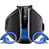 Energy Sistem Active 2 - Reproductor MP3 (8 GB, auriculares deportivos, radio FM, brazalete) color azul