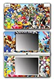 Super Smash Bros Ultimate Melee Brawl Mario Yoshi Mega Man Zelda Sonic Metroid Video Game Vinyl Decal Skin Sticker Cover for Nintendo DSi System