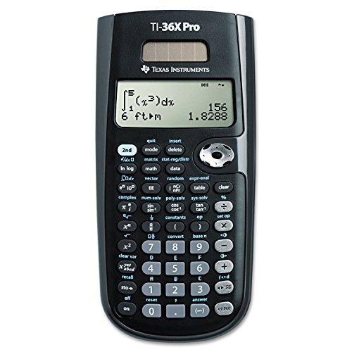 Texas Instruments TI36XPRO TI-36X Pro Scientific Calculator,