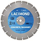 Lackmond EDH161251 16-Inch High Speed Segmented Diamond Blade for Cured Concrete and Masonry