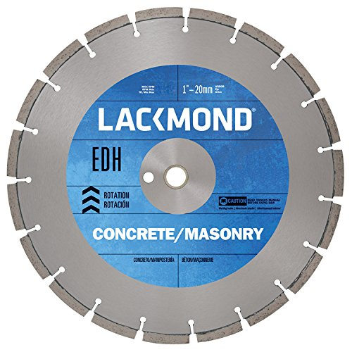 Series Walk Behind Concrete Saw (Lackmond EDH Series Wet/Dry General Purpose Saw Blade - 16