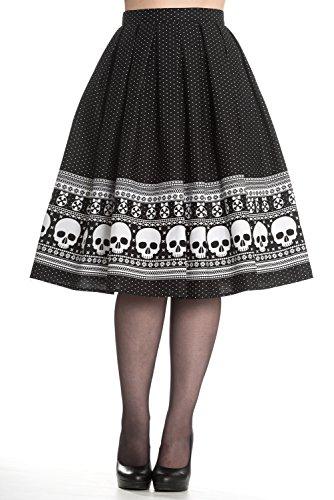 Hell-Bunny-Clara-Rockabilly-50s-Skull-Skirt