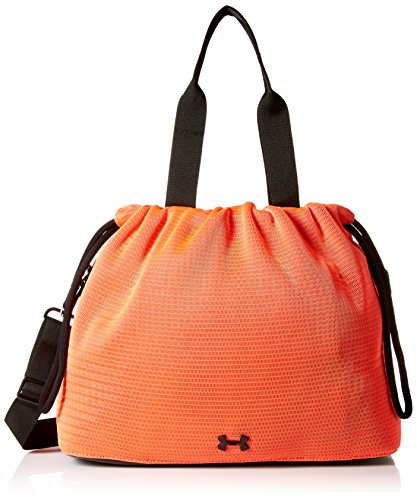 Under Armour Women's Cinch Mesh Tote, Brilliance (819)/Black, One Size (Cinch Pack Under Armour)