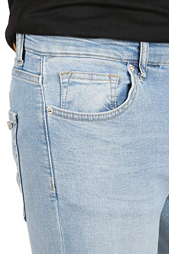 Skinny Azul Rogen para fit Pild Vaqueros Claro 8008 Hombre ZErEq61