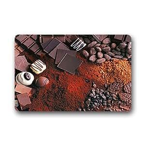 """Custom sweet chocolate Doormat Outdoor Indoor 23.6""""x15.7"""" about 59.9cmx39.8cm"""