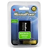 Maximal Power DB NIK EN-EL1 Replacement Battery for Nikon Digital Camera/Camcorder (Black)
