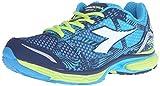 Diadora Men's N-6100-3 Running Shoe, Classic Navy/Blue Fluorescent, 12 M US For Sale