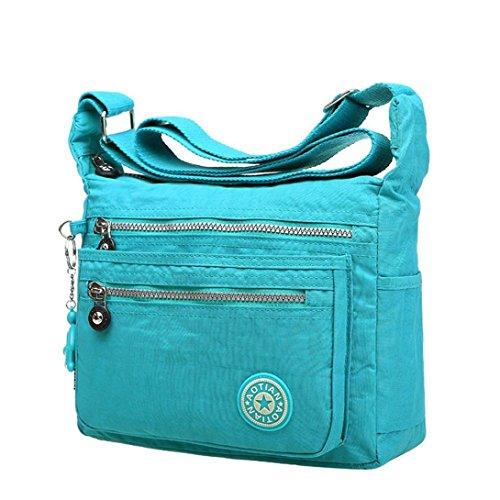 Blue Sky Handbag Shoulder Ladies Bag Bags Purple Transer® Newest Popular Handbags Holder Bag Card Girls Hand Shoulder Canvas amp; Women fF1FxUHn