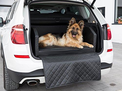 51Elw%2BblGEL CopcoPet Travel Bed 90x70cm / Hunde-Reisebett aus Kunstleder/Hunde-Autobett/Wasserabweisende Tiermatratze/Hundebett mit…