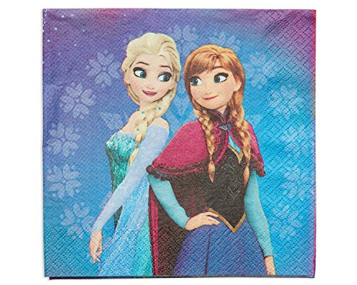American Greetings Frozen Magic Lunch Napkins (16 Count) -