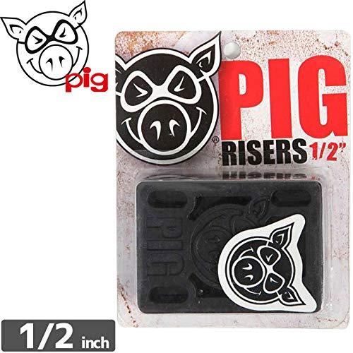 儀式ラッチセッションピッグ PIG WHEELS スケボー ライザーパッド ピッグ ライザーパッド1/2インチ NO2