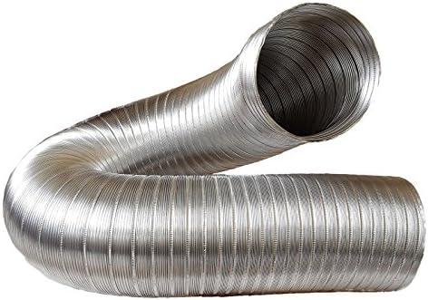 Canalizado Manguera, Tubo de aluminio Flex, aluminio flexibell 150 mm de diámetro, 3 m por ejemplo para aire acondicionado, Secadora, campana: Amazon.es: Bricolaje y herramientas