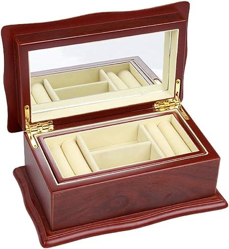 Cajas para Joyas de Madera Cajas de Almacenaje para Pulseras Relojes Collares Anillos Cajas de Regalo Cofres para Joyas Accesorios de Joyería Cajas para Guardar Joyas Cajas para Exhibidores de Joyas: Amazon.es: