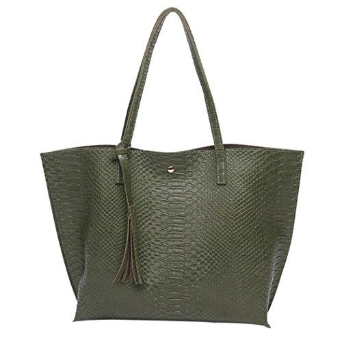 borse alta borse ricamo tracolla catena Borsa 1 qualità Yesmile Verde Donna 1 pelle corpo crossbody Verde di rose Donne Messenger Borsa Tracolla Vera a twwC6z