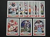 Atlanta Falcons 1990 Fleer Football Team Set **Premier Issue** **Chris Miller, Deion Sanders, John Settle, Mike Kenn, Bill Fralic, Tony Casillas, Mike Gann, Aundray Bruce, and more.**