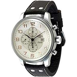 Zeno-Watch Mens Watch - Giant Chronograph Date - 10557TVD-f2