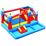 Blast Zone Misty Kingdom Bouncer, Ball Pit & Water Park
