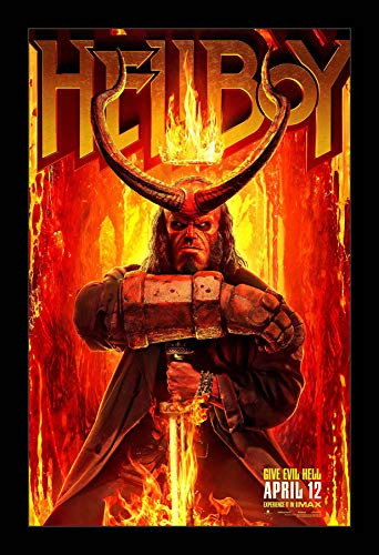 Hell Movie Poster - Wallspace 11x17 Framed Movie Poster - Hellboy (2019)