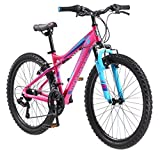 Mongoose Girls Silva Mountain Bicycle Pink 24'' Wheel 13''/Small Frame Size