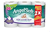 Angel Soft Toilet Paper Angel Soft Toilet Paper with Fresh Lavender Scent, 48 Jumbo Rolls